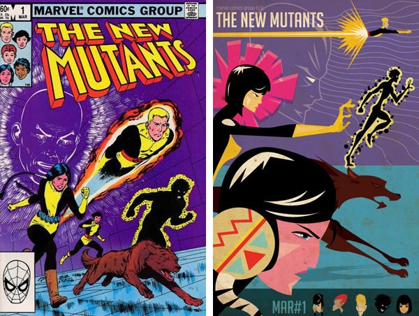The New Mutants by Ptricio Oliver