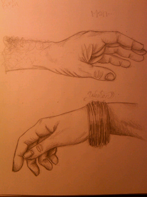 Hand Study - Male vs Female